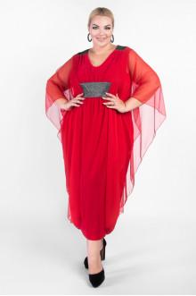 """Платье """"Артесса"""" PP37907RED25 (Красный)"""