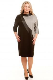 Платье 458 Luxury Plus (Домино стальной)
