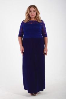 Платье 1111302 ЛаТэ (Васильковый)
