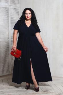 Платье 066204 ЛаТэ (Темно-синий)