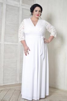 Платье 099501 ЛаТэ (Белый)
