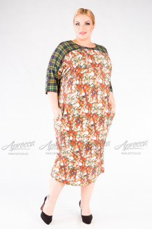 "Платье ""Артесса"" PP24003GRN19"